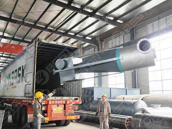 Cyclone Dust Collector of BST-J40 to Spain