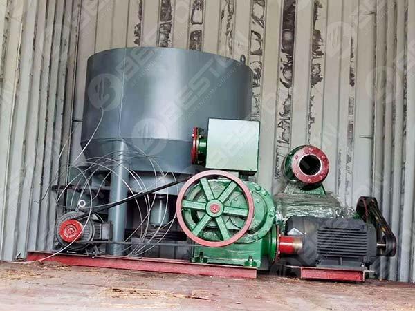 Pulp System of 1000pcs Machine to Sudan