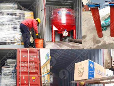 BTF1-4 1500pcs Egg Tray Machine to Bolivia
