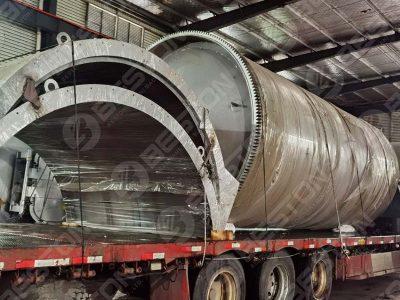 BLJ-12 Tyre Pyrolysis Plant Is Shipped to Nigeria