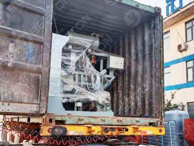 BTF1-4 Egg Tray Machine to Zambia