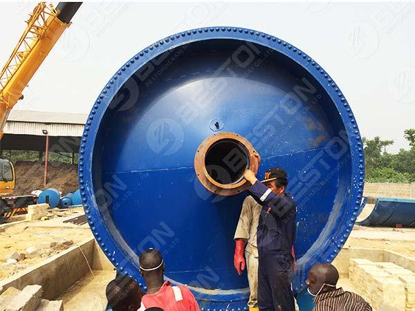 Instalación de Beston en Nigeria