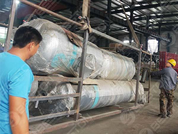 Condensador de aceite de BLJ-12 a Nigeria