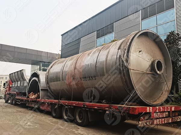 Reactor de pirólisis a Nigeria