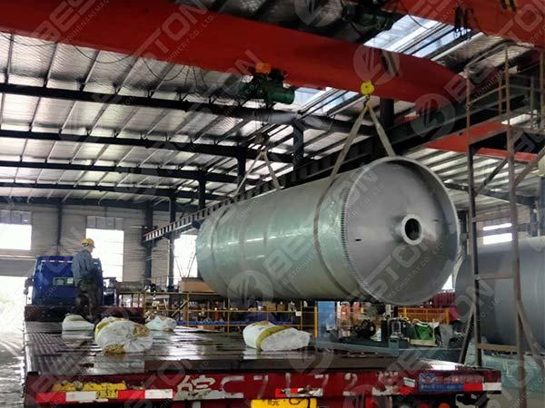 Reactor de BLJ-12 a Nigeria