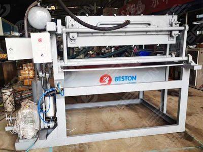 Машина для изготовления лотков для яиц 1500 шт была отправлена в Бангладеш