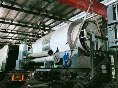 Установка пиролиза пластмасс BLJ-3 отправлена в Испанию