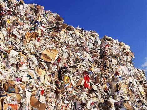 Papel de lixo
