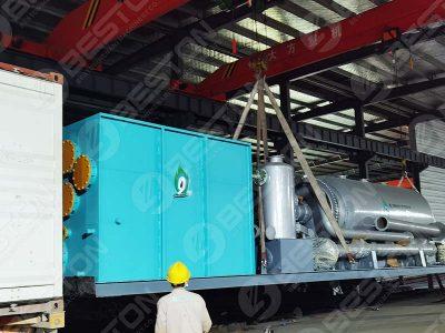 Мобильная пиролизная установка BLJ-3 в Оман