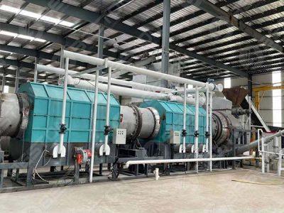 Установка для производства древесного угля из древесной щепы в провинции Цзянсу, Китай