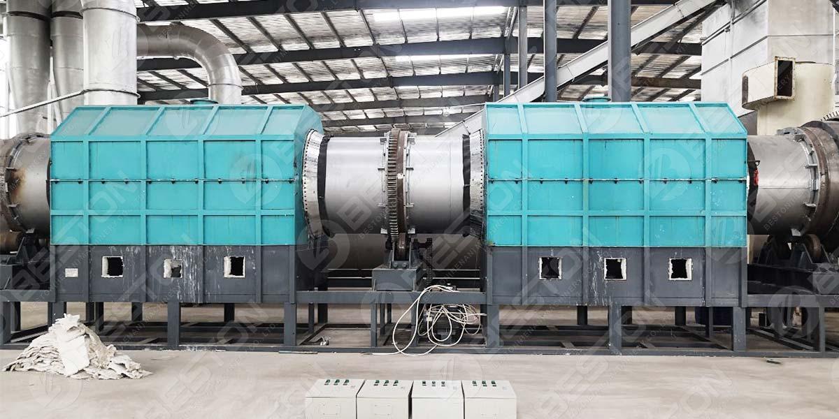 Equipamento de produção Biochar para venda