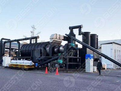 Машина для производства древесного угля из пальмоядра была отправлена в Японию